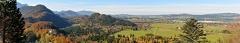 2012 10 20 Füssen 3000 -- Ausblick kurz vor Schloß Neuschwanstein