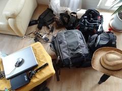 -- Mein Foto-Equipment von der Kaiserstuhltour